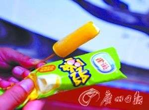 """笨NANA冰棍""""香蕉皮""""常温一天不化 雀巢否认含明胶"""
