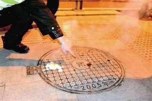 窨井冒热气煮鸡蛋 热气冒出足足有两米多高到底怎么回事?