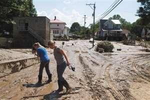 美西弗吉尼亚州洪灾百年不遇 至少24人死亡