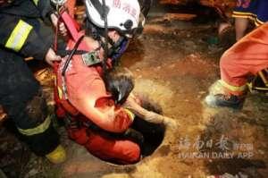 三亚4岁小孩跌落粪池 被成功找到经抢救无效死亡