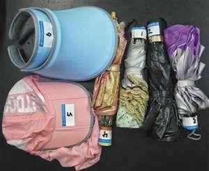 防紫外线测试:遮阳伞完胜防晒帽