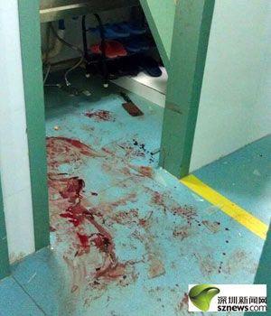 深圳鹏程医院发生菜刀砍医事件 凶手动机不明