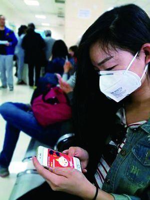 北京某医院耳鼻喉科门诊排队:一半是鹿晗粉丝