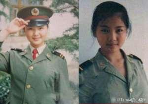 刘涛晒青涩军装照 文艺兵除了军事训练学习舞台表演还要做这些事情