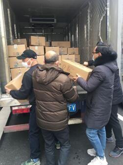 医疗物资全线告急,莎普爱思药业全力以赴,首批捐赠抗疫物资已送达!