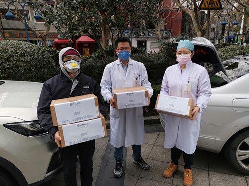 珀芙研紧急驰援抗疫一线 解决医护人员口罩脸