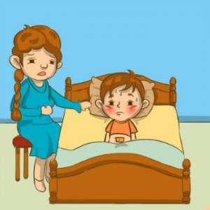 孩子积食发烧的症状怎么调理?这样做就不错