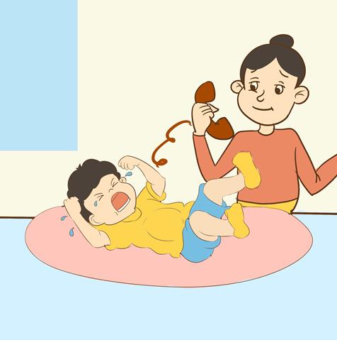 宝宝涨肚子怎么办?这样做效果不错